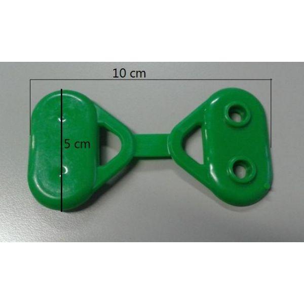 Bloccarete piccolo 2 punte 6 cavità